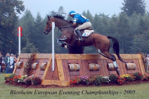 Ismene au cross des Championnats d\'Europe de BLenheim en 2005