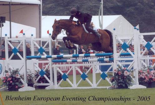 Ismene au cso des Championnats d\'Europe de BLenheim en 2005